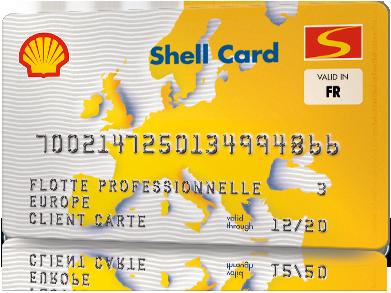 Environ 100 stations Shell acceptent la euroShell Card Single National en France